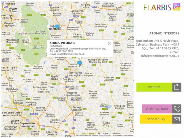 ELARBIS Home (Store map)