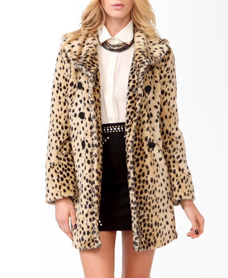 Impressive style in leopard