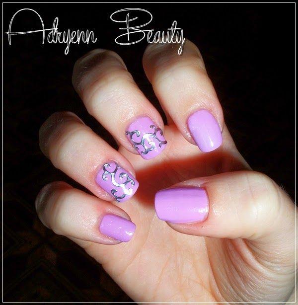 Adryenn Beauty: Dombornyomott mintás köröm