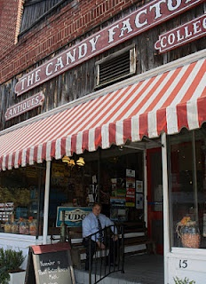 The Candy Factory Lexington NC, and the best BBT Banker, Frank Cagle!