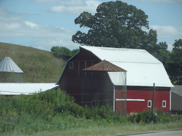 Love the red barns