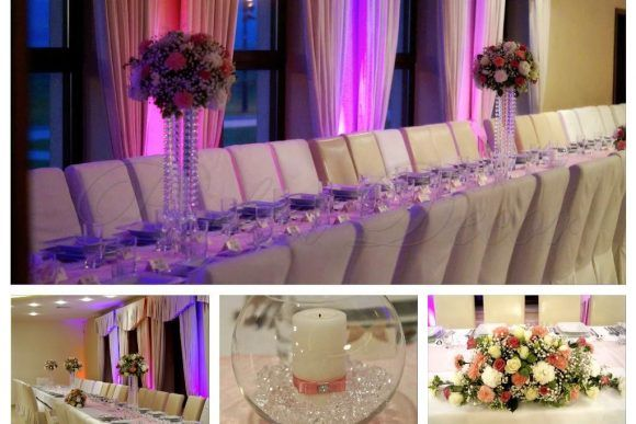 Dekoracje ślubne kościołów i sal weselnych