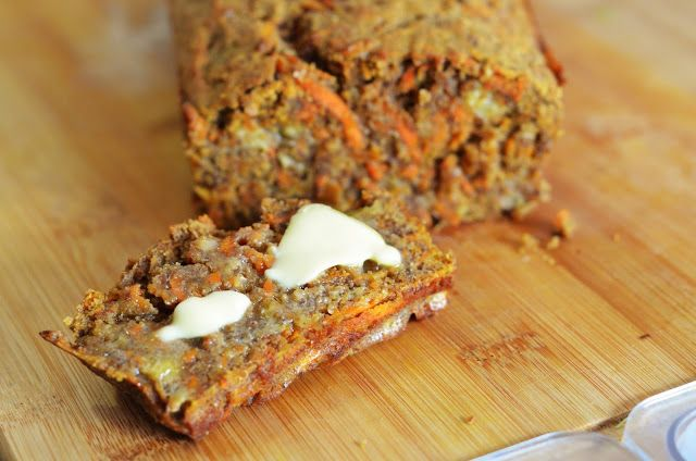 Forever Nutrition: Banana and carrot loaf