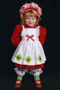 classic strawberry shortcake costume | Vintage style Strawberry Shortcake Costume 3 pc set sz 6x | Shop ...