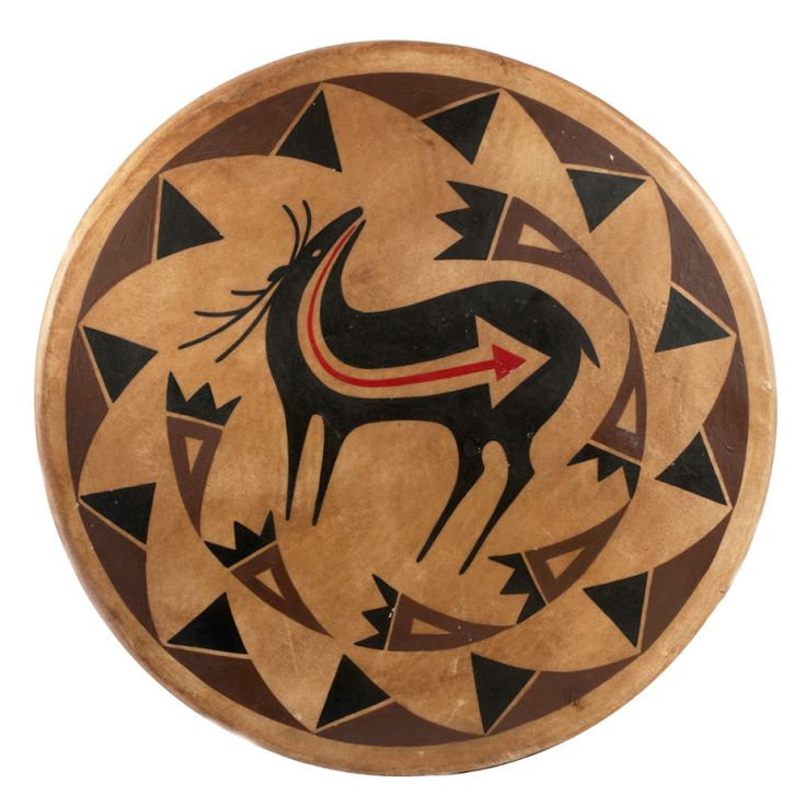 1stdibs.com   Ojibwe Drum