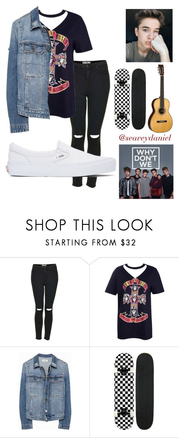 """Daniel Seavey- Kaylee"" by kayleerocio ❤ liked on Polyvore featuring Topshop, Boohoo, Zadig & Voltaire, Vans, men's fashion and menswear"