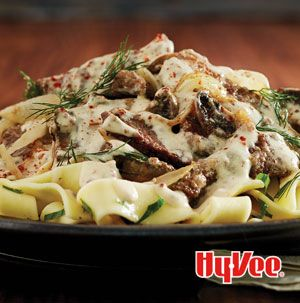 Let The Best Beef Stroganoff bubble away in the slow cooker. You'll have the most tender, flavorful beef. Plus your house will smell amazing.