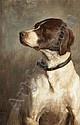 George Percy R.E. Jacomb-Hood British, 1857-1937 English Pointer, 1882, George Percy Jacomb-Hood, Click for value