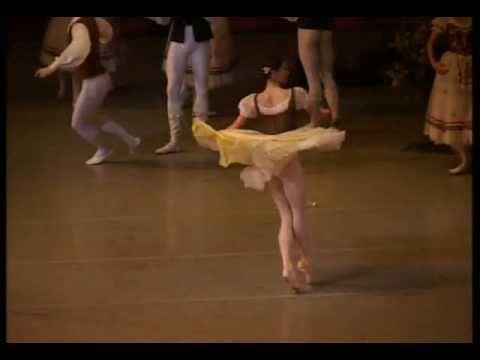 Giselle (Variation) Polina Semionova - I LOVE this variation, and Polina Semionova does it beautifully!