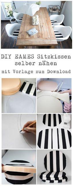 DIY Anleitung Sitzkissen passend für  Eames Chair