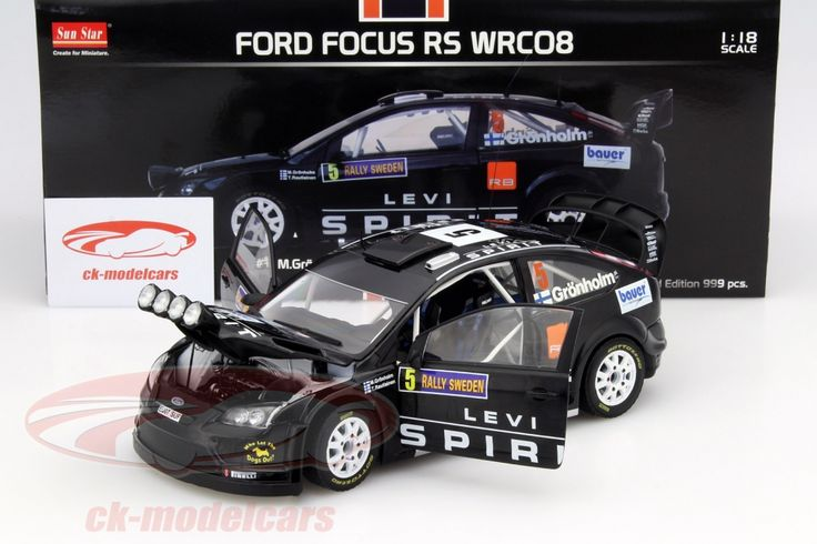 Ford Focus RS WRC08, Rally Sweden 2010, No.5, M.Gronholm / T.Rautiainen. Sun Star Models, 1/18, Limited Edition 999 pcs. Price (2016): 70 EUR.