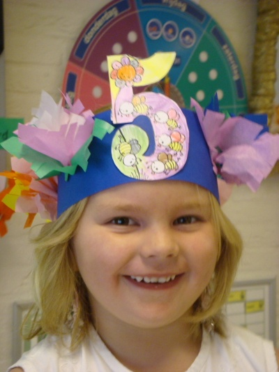 Verjaardagskroon: hoed