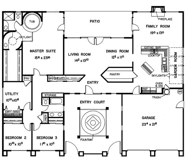 15ca130714870e4c22c5f1148445a92d mansion floor plans ranch house plans 52 best house plans images on pinterest,Spanish Style Courtyard House Plans