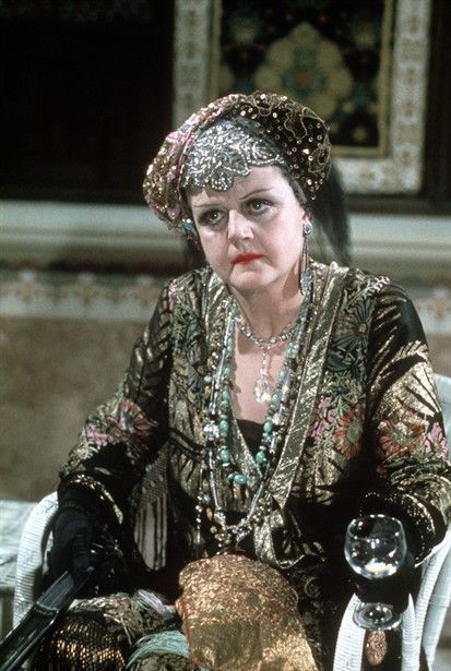 Angela Lansbury in Death on the Nile (1978) - the colours are actually more intense in the film.  Great outfit.