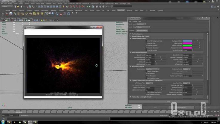 Maya And Krakatoa Particle effects Part 1