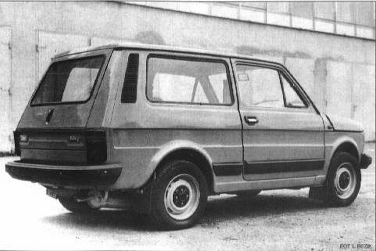 Fiat 126p kombi