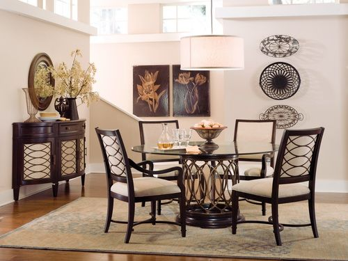 Round Dining Room Tables For 4