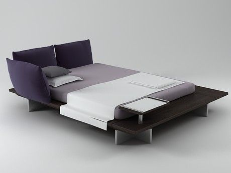 Ligne Roset Maly Bed 3d model   Peter Maly