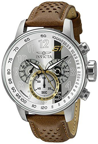 Invicta Men's 19286 S1 Rally Analog Display Swiss Quartz Brown Watch * Visit the image link more details.
