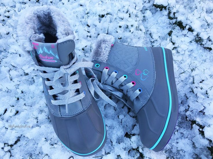 Looking for great winter boots for your child? We LOVE Skechers Kids winter boots! They are stylish and functional.