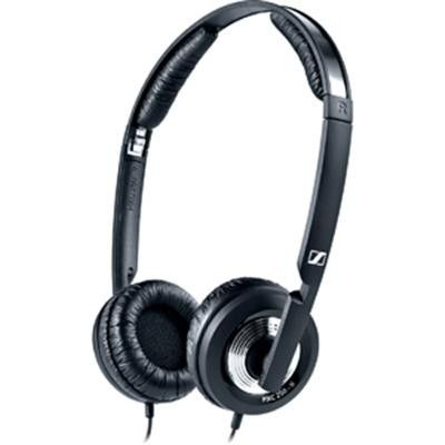 While my first choice for headphones is Bowers & Wilkins, Sennheiser are my second go to phones. These fold up nicely for travel.