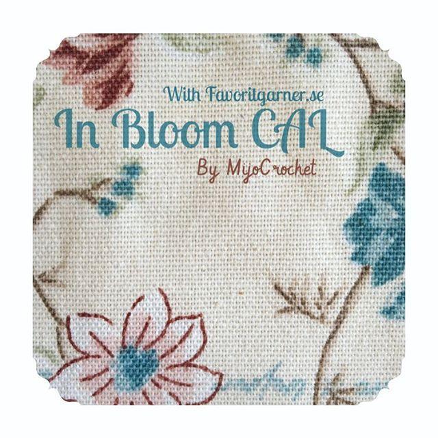 First part of In Bloom CAL is now up on my blog  Pattern in english and swedish. . Första delen av In Bloom CAL finns nu på min blogg  Mönster på svenska och engelska. . #mijocrochet #inbloomcal #favoritgarner #scheepjes #crochetcal #mysterievirkning #cal #crochet #virka #scheepjescatona #crochetpillow #crochetcushion #virkadkudde