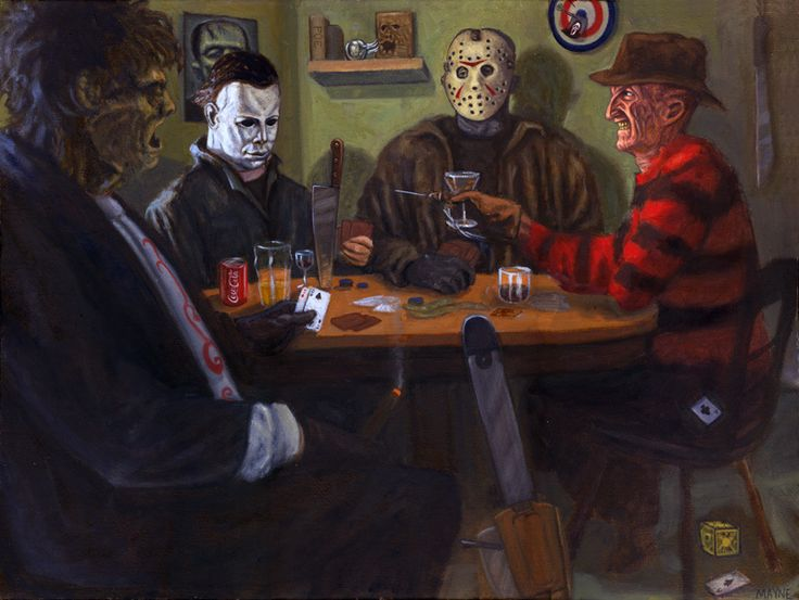 Pretty great!  This would be a nice piece of art for a Horror themed room in your gigantic mansion!