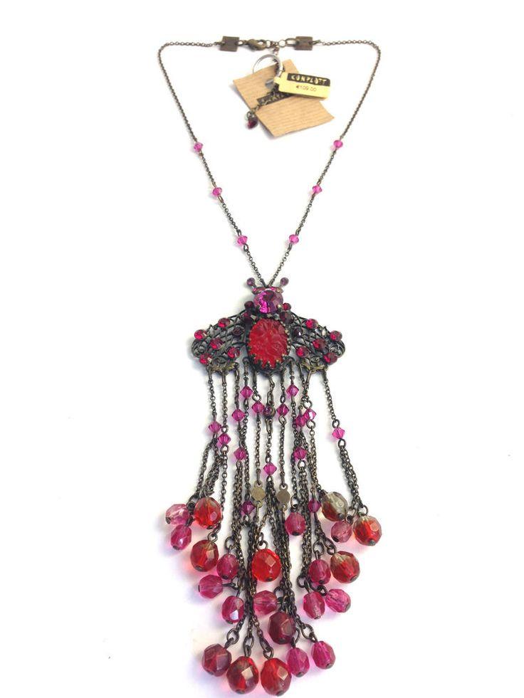 Konplott Halskette Lovely Bug Designer Schmuck