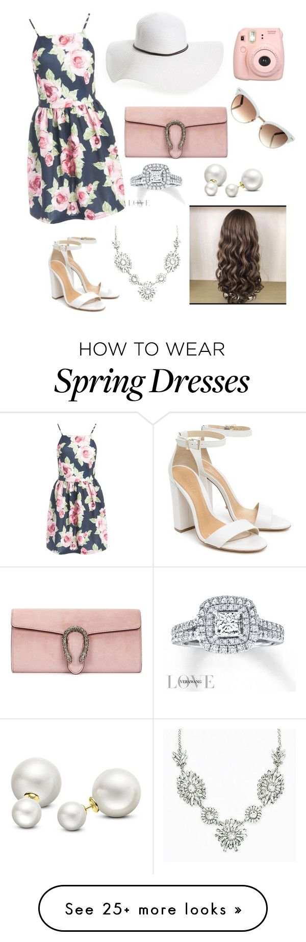 """sweet marry Jane"" by kathi-drahota on Polyvore featuring Schutz, Fujifilm, Sans Souci, Gucci, David & Young, Vera Wang and Allurez"