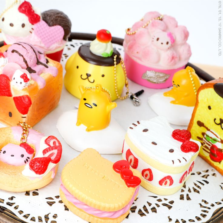 Some things are just so cute that you have to squeeze them! Check out all of our supercute squishies.