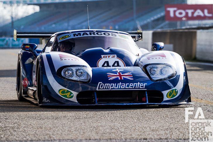 Supercars Le Mans Panosundaki Pin