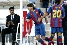 """ROXANA REY: Con 17 años Hace diez años debutaba """"Lionel Messi""""..."""
