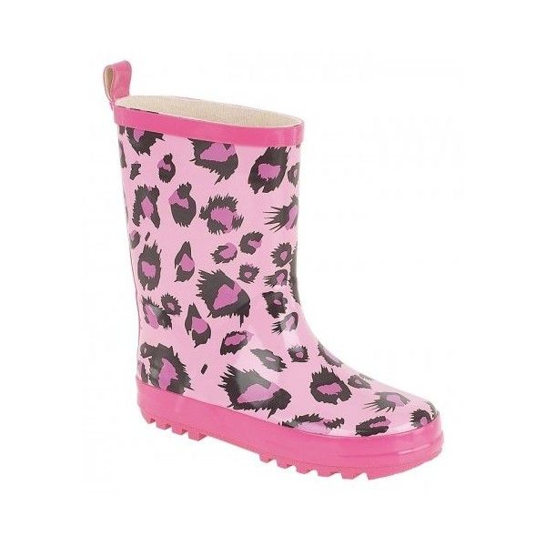 GIRLS KIDS CHILDRENS WELLIES WELLYS WELLINGTON RAIN SNOW BOOTS PURPLE... (£7.95) ❤ liked on Polyvore featuring kids