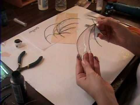 Tutorial for making fairy wings.