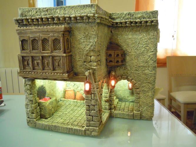 Foro de Belenismo - Arquitectura y paisaje -> Herreria partiendo de la de Emore