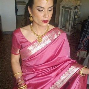 indian wedding hairstyle and makeup in italy Rome by www.janitahelova.com