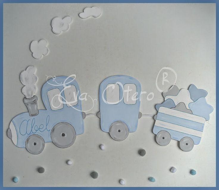 Siluetas infantiles. Decoración infantíl personalizada. Siluetas de madera artesanales. Cuadros infantiles. Letras de madera.  Eva Otero siluetas.