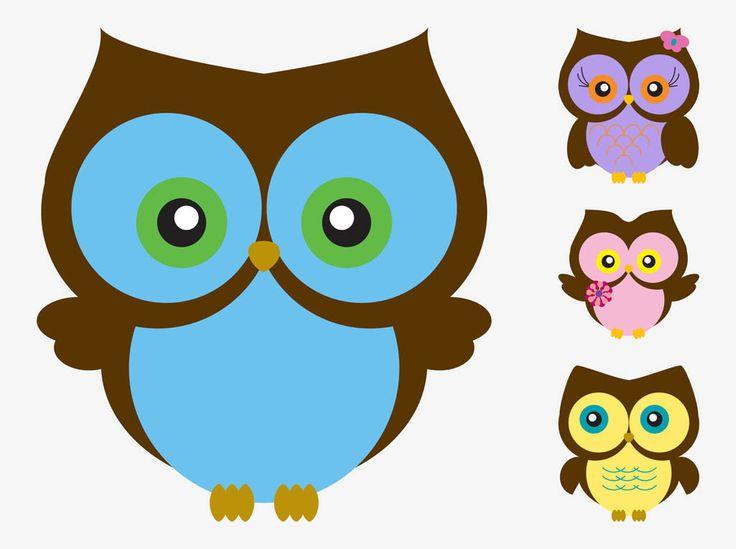 17 best owl images images on pinterest owls owl and owl clip art cartoon vector owls voltagebd Images