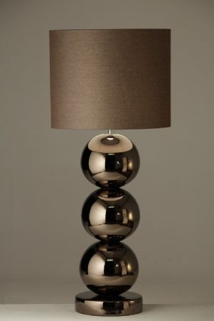 Milano - tafellamp bronze 3 bollen