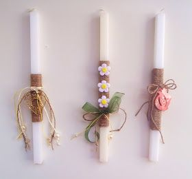 easter candles 2012