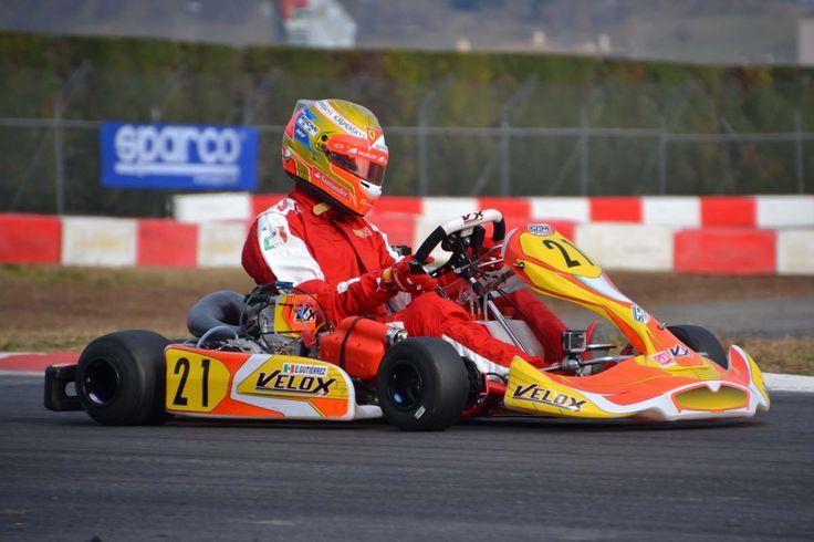 Pin di SGM Velox Racing KART su Esteban Gutiérrez Kart e