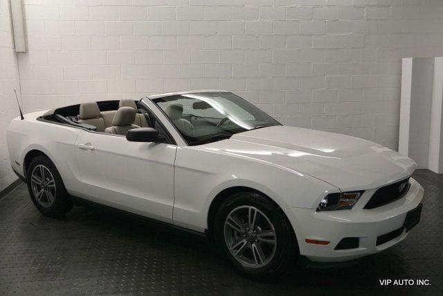 2012 Mustang 2dr Convertible V6 Premium 2012 Mustang 2012 Ford Mustang Mustang