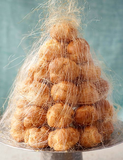 Croquembouche recipe from Flour, Too cookbook by Flour Bakery's Joanne Chang. zomg