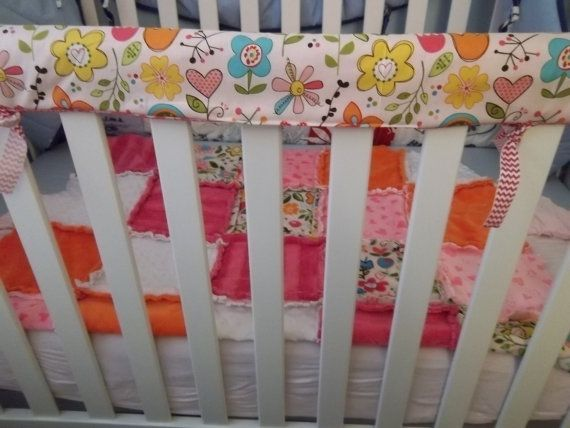 Pattern Super Simple Crib Rail Cover Reversible By