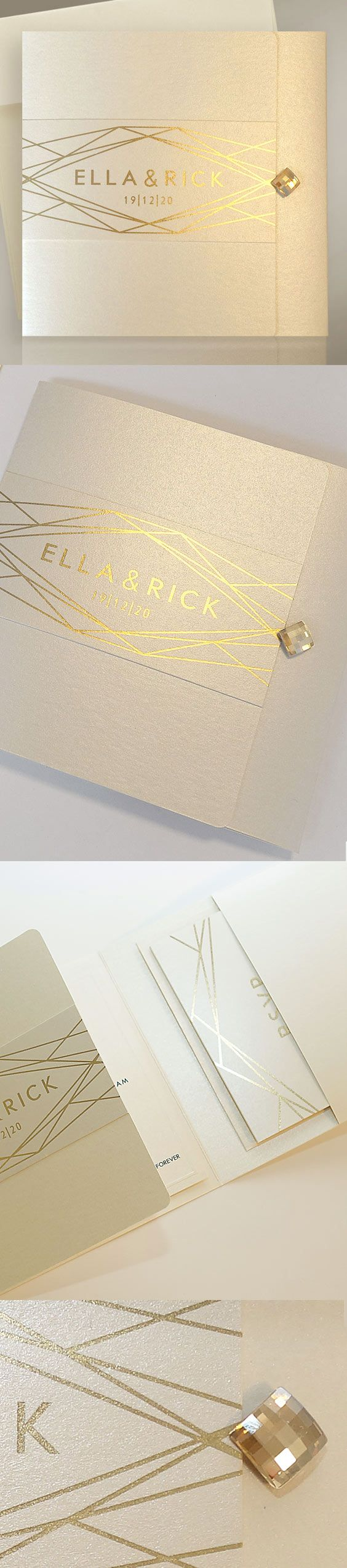 The 32 best LUXURY WEDDING STATIONERY FROM POLINA PERRI images on ...