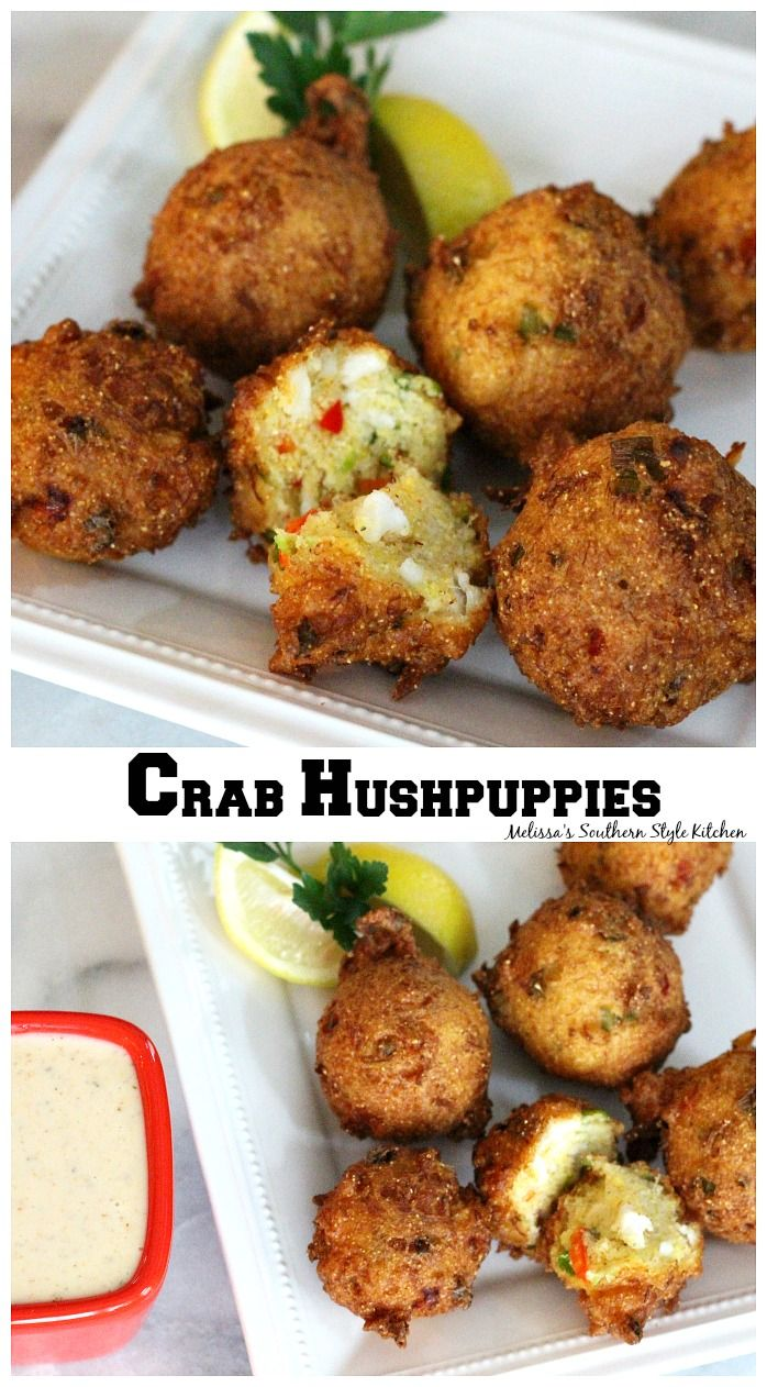 Crab Hushpuppies