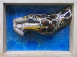 Turtle hand animal by 100percenthandmad on Etsy