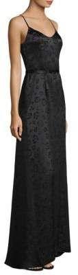 L'AGENCE Shani Silk Leopard Maxi Dress #ad #gowns