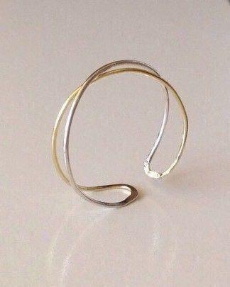 クロスリングVer.1:sv950/真鍮製|指輪・リング|ハンドメイド通販・販売のCreema