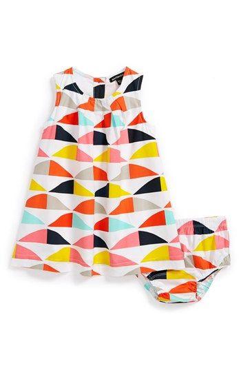 Marimekko 'Vinkkaus' Dress & Bloomers (Baby Girls ...